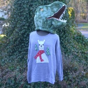 Woman Within 22/24 Ugly Llama Christmas Sweater